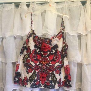 J.Crew floral camisole size Xl
